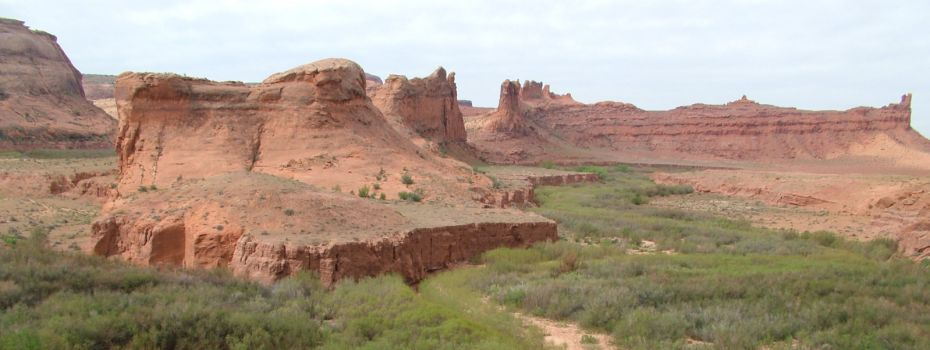 Rock Buttes  Near Bluff, Utah